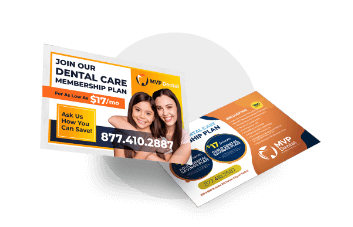 Dental Direct Mail Handout Card